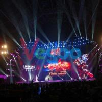 Slim Seamless Advertising Concert Led Screen Die Casting Aluminum Cabinet