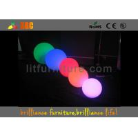Waterproof RGB LED Light Ball illuminated led furniture with 16 Colors Changeable