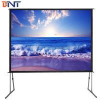 150 inch fast fold rear projection screen
