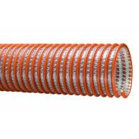 Non Toxic PVC Spiral Hose Pipe , PVC Suction Discharge Hose / Pipe Weather Resistance