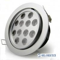 Long lifespan 50000 hours / 12W / 1100 lm / AC86 - 265V LED ceiling lamps 2 years warranty