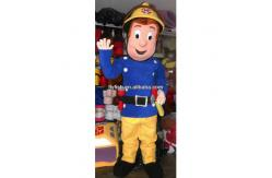 costume de mascotte de sam de pompier de vente pour des. Black Bedroom Furniture Sets. Home Design Ideas