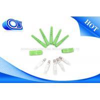 Good Durability Fiber Optic Patch Cord SC APC Connectors PVC / LSZH Jacket