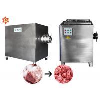 500kg/H Professional Meat Grinder Machine For Sausage Making 100mm Hole Cutter Diameter