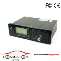 Black Vehicle Traveling Driving Recorder GPS device support GSM GPRS communication modes