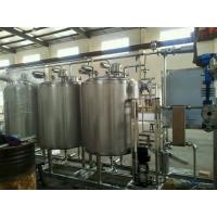 Automatic Control 3000L CIP Washing System SUS304 Material To Clean Pipe Tank