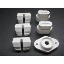 China wear resistance Talc / Steatite Ceramic with alumina, zirconiz ,cordierite manufactures on sale