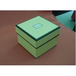 China Cardboard box, rigid cardboard box in green color  on sale
