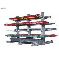 Supermarket Cantilever Pallet Rack Shelving Powder Coated Surface Easy Installation