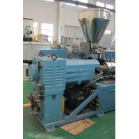 Stable Operation Plastic Recycling Extruder Machine For Solid PVC Pellet