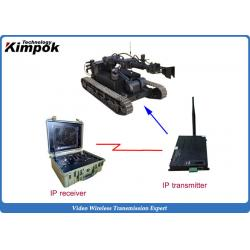 China H.264 High speed audio video transmitter Ethernet Wireless IP Transceiver Real-time Transmission on sale