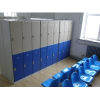 2000 * 933 * 470mm Changing Room Lockers 3 Comparts 3 Column For Employee