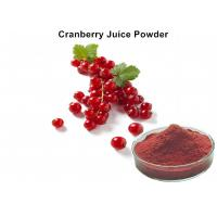 Pure Cranberry JFruit Juice Powder High Proantho Cyanidins For Function Foods