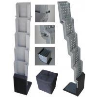 Floor Metal Frame Wire Magazine Display Racks With Five Shelf