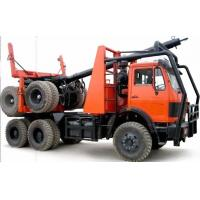 Off road 6x6 log truck Beiben 2638 truck with trailer for logging