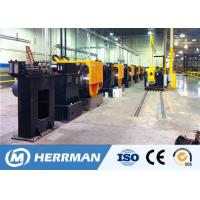 Wire Metal Drawing Machine , Contact Wire Drawing Plant For Cu-Sn Copper Magnesium