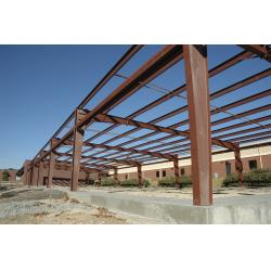 China H Type Columns Beams Steel Frame Commercial Buildings , Steel Frame Structure Construction on sale