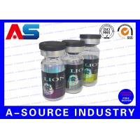Steroid Pprofessional Glass 10ml Vial Labels Printing In Personalized
