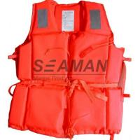 75N Polyester Inherent Foam Ccs Marine Life Jacket for Adult / Child  86-3