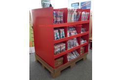 China ¡Exhibición con los estantes, estante de la plataforma de la cartulina de los dispositivos de cocina POP/POS de exhibición de Walmart para la promoción! proveedor