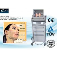 Korea Style Wrinkle Removal HIFU Machine Three Catridges for face 15inches Touch screen
