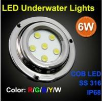 LED marine light,IP68,SS316 led underwater yacht light show led pool lighting