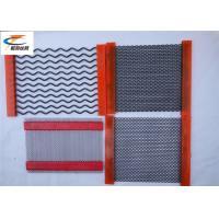 High Wear - Resistant Mining Screen Mesh Stainless Steel 1mm - 14mm Wire Diameter