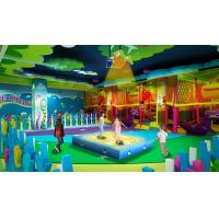 Interatctive Projection Type Trampoline Games For Kids Shopping Mall Use