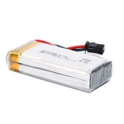 China High Rate 20C RC Helicopter Battery , RC Plane Lipo Battery Pack 900mAh 7.4V 2S on sale