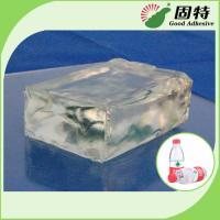 Colorless Transparent Hot Melt Pressure Sensitive Adhesive For labeling on plastic bottles of mineral water, beverage, e