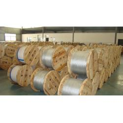 China High Performance Galvanized Steel Stranded Wire , Zinc Coated Cable Wire on sale