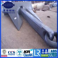 8775KG AC-14 HHP Anchor, Black Painted stockless AC-14 high holding power Anchor with KR LR BV NK DNV ABS CCS cert.