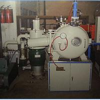 Vacuum induction melting furnace for hydrogen storage material