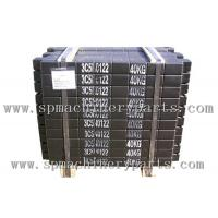 Hot Selling Construction Equipment Elevator Concrete counter weight with black paint