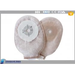 China One piece Child Pediatric Ostomy Bags Adhesive / Colostomy Bag For Baby on sale