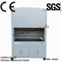 Ip 20 Class i Lab Laminar Chemical Fume Hoods With 5mm Glass Window Electrical Controlled Glass