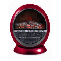 Stylish Indoor Log Flame Effect Portable Electric Fireplace PTC Heater For Living Room