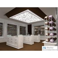 Light Industrial Products Exhibition Center by white classic drawer chest and wall display cabinet
