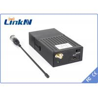 Small QPSK NLOS 2KM Audio Video Wireless Transmitter Real Time Monitoring For Criminal Investigation