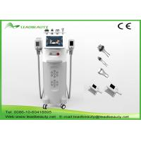 5 Handles Cryolipolysis Body Weight Removal Machine 12 Inch Touch Color Screen