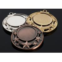 Antique Metal Academic Award Medals Gold / Silver / Bronze Color Optional