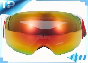 ski goggles smith  reflective ski