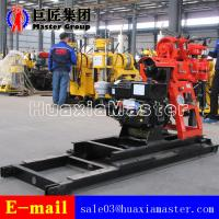 130 Meters HZ-130YY Water Well Drilling Rig With Movable Main Engine