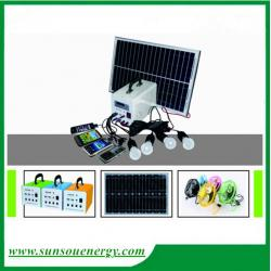 China 20w/12v portable solar lighting system with promotional price for hot selling on sale
