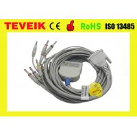 Medical device schiller EKG Cable with Banana 4.0 IEC 10K resistor, 10 lead ecg cable