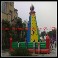 inflatable climbing wall, inflatable rock climbing wall, inflatable climber