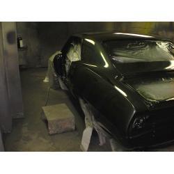China auto spray booth HX-600 on sale