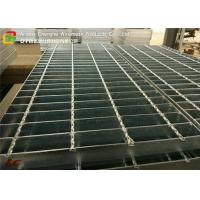 Platform Hot Dipped Galvanized Steel Grating Twisted Bar High Strength