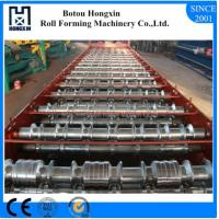 Trapezoidal Type Roof Roll Forming Machine With Pre Cutter 70kg / Pc Solid Shaft