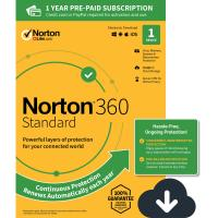 Digital PC Antivirus Software , Computer Virus Protection Software Norton 360 Standard